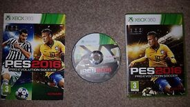 Xbox 360 games Pro Evolution Soccer 2016