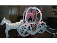 Candy cart hire horse and carriage £60 without sweets £90 with sweets weddings communions. Birthdays