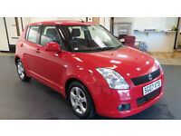 2007 07 SUZUKI SWIFT 1.5 GLX VVTS 5d 101 BHP *1 OWNER FROM NEW*PART EX WELCOME*24 HOUR INSURANCE