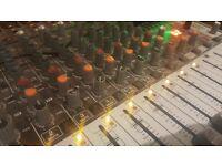 Studio/Recording Time in North London Studio - £35 p/hr