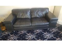 BARGAIN BLACK SOFA FOR SALE