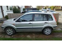 Ford Fusion,2007,manual,silver,1388,hatchback,private,petrol,MOT 2018,air cond-serviced,good conditi