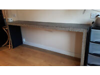 Dressing table/Bed table Shabby Chiced Malm - Ikea