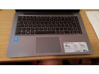 "asus e403s 14"" laptop metal build n3700 2gb ram windows 10"