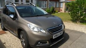 2015 Peugeot e-HDi Allure 5 Door SUV, 32K miles, 1.6 Diesel with 2 Year Warranty pre-paid.