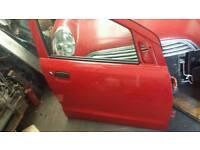 Suzuki alto braking 61 reg in white and red