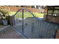 Fabricated Steel gates and fencing
