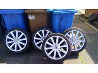 """Vw golf mk5 r32 18"""" alloy wheels"""
