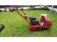 Petrol mower self propelled