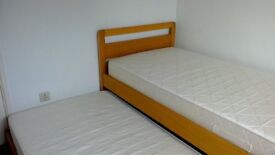 Bed to convert to doulble