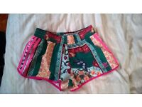 Adidas Floral Shorts Size S