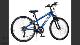 """Boy blue 24"""" Edgar bike brand new as my son was never interested"""