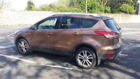 2013 Ford Kuga 2.0TDCI. 4x4 Titanium X, Pan-roof, Full heated leather, appearance Pack, Sat Nav Etc