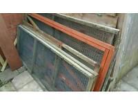 Aviary animal run enclosure pen panels
