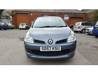 RENAULT CLIO EXPRESSION 2007 (57) 1.2 5 DOOR WITH AIRCON LOW MILEAGE 1 OWNER HPI CLEAR