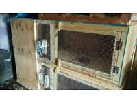 2 Large 6ft x 2ft x 2ft, ferret cages for sale