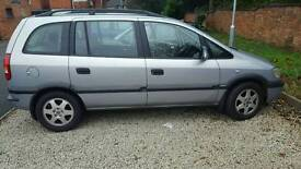 *offers Vauxhall zafira 7 seater