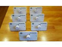 In wall volume controls for sale.