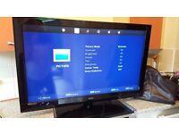 "40"" HD flat screen tv"
