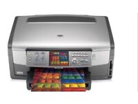 HP Photosmart 3310 All in one Printer, Copier, Scanner, Fax complete with 5 Genuine HP Cartridges