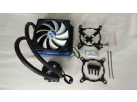 Zalman CNPS20LQ AIO CPU Liquid Water Cooler + Arctic F12 PWM Fan Intel 1150 1151 1155 1156 LGA 2011