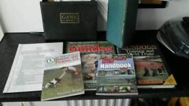 Gundog training books