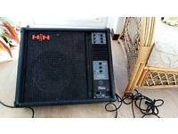 HH Electronic IS112P Powered Monitor Stage Speaker pa amp combi Microphone keyboard guitar amp