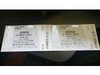 2 X Blink-182 Standing Tickets Aberdeen 12/Jul/17 [Below Face Value]