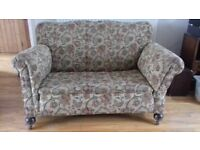 Antique two seater Chaise Longue Sofa
