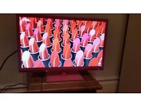 """Like new, Technika 22"""" Full HD 1080p Slim LED TV / built in DVD Combi With Freeview, HDMI, USB"""