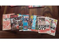 58 - Stoke City Football Programme Collection / Job Lot 1972-1998