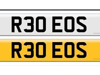 Cherished Number Plate- Reduced to clear!