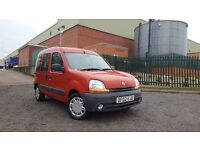 2002 Renault Kangoo 1.4 WHEELCHAIR ACCESS RAMP DISABILITY DISABLE WHEEL CHAIR ACCESSIBLE Berlingo