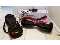 Hoverboard Segway Balance Board, charger, remote, case and original box all in Great condition