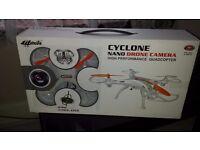 Cyclone Nano Drone With Camera High Performance Quadcopter Below 120m Maplin