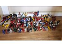Power ranger joblot.