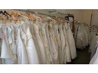 Bridal shop Closure 100 + dresses plus lots more!