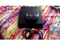 PS4 + 3 games,controler and all the leads £190.00