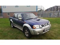 AMAZING NISSAN NAVARA D22 2.5 DIESEL YD25 BLUE WITH A FULLY RECONDITIONED ENGINE