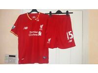Liverpool football kit