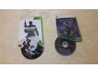 Xbox 360 - Call of Duty:MW3 + Halo Wars