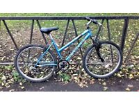 """Ladies Mountain Bike Bicycle. Fully Serviced, Ready To Ride & Guaranteed. 18"""" Frame. 10 Speed"""