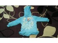 Brand new Disney Frozen fleece hoodie age 3-4
