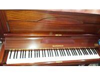 Mansfield upright piano