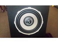 Bass Face POWER12.1 1300W Active Car Subwoofer Built In Amplifier (Amp not working)