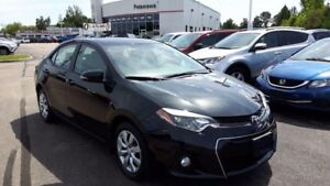 2014 Toyota Corolla S 6spd manual transmission