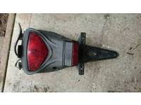 Suzuki gladius rear tail light unit complete