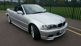 LOW MILEAGE,HPI CLEAR,BMW 320 CI M SPORT CONVERTIBLE,ONE PREVIOUS OWNER,SERVICE HISTORY,THREE KEYS