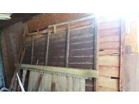 Wood- old fence panels