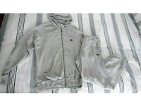 Adidas Tracksuit - Mens UK Size Large - Grey